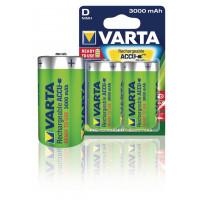 Oplaadbare NiMH Batterij D 1.2 V 3000 mAh 2-Blister