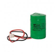 Batterypack NiMH 7,2V / 250mAh voor MCS-710