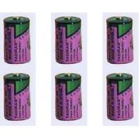 Bundel van 6 Batterijen Tadiran TL-2150 1/2AA
